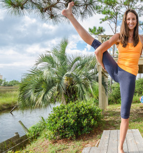 gulf shores yoga photography